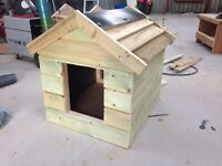 Medium sized dog kennel with lift off roof