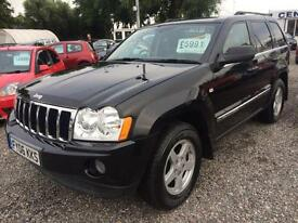 2006 JEEP GRAND CHEROKEE 3.0 CRD LIMITED 4 x 4 DIESEL FULL LEATHER