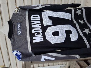 Signed Connor Mcdavid All Stars Jersey