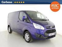 2015 FORD TRANSIT CUSTOM 2.2 TDCi 125ps Low Roof Limited Van