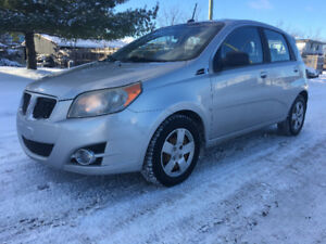 2009 Pontiac G3 Wave *Sunroof Safety *Snow Tire Pkg* Only $3650!