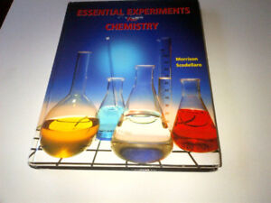 ESSENTIAL EXPERIMENTS FOR CHEMISTRY, Hardcover, gr 11-12