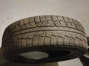 "1 spare Minerva eco stud winter tire  225/65/17"" $15"