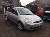 2004 Ford Fiesta Flame 1.4, Silver, 80k Miles, MOT, FSH, Alloys Wheels, Full Electrics, AC,