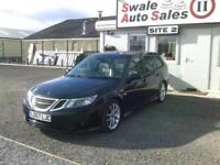 2007 SAAB 9-3 VECTOR SPORT BIOPOWER 2L - 68,333 MILES - FULL SERVICE HISTORY