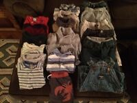 Baby GAP and baby MEX boy clothing