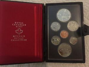 Royal Canadian Mint 1978 Double Struck Coin Set
