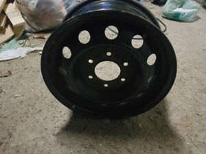 "One set of(4) 16"" - 6 bolt steel rims"