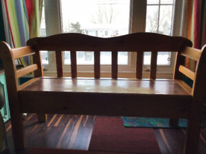 Pine Deacons Bench for Sale...very well made
