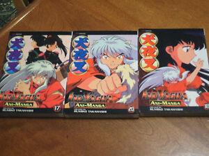 Inuyasha books - Ani Manga
