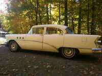 '55 Buick Special, 4Dr, 3 speed auto
