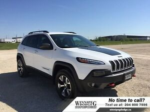 2015 Jeep Cherokee Trailhawk V6 4x4 w/Leather  Tow Package *LOCA
