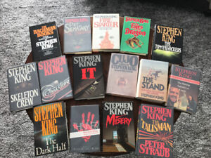 Stephen King Collectible Books
