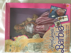 Wow! 1986 Jewel Secrets Barbie Doll! NRFB!
