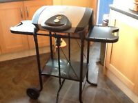 George Foreman Large Lean Mean fat reducing Grilling Machine with stand
