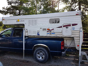 Sun Valley pop up camper fits mid and full size pickup