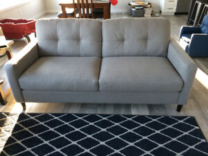 New! Sofa and love seat