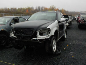 2000 Mercedes ML320 Now Available At Kenny U-Pull Cornwall