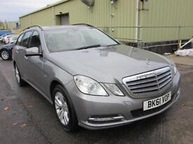 2011 Mercedes-Benz E Class 2.1 E220 CDI BlueEFFICIENCY SE Edition 125 5dr