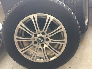 4 BMW Winter Tires - Slightly Used, Great Condition!