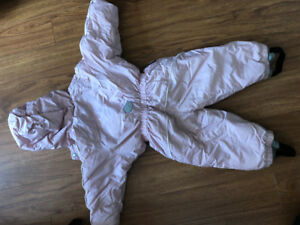 EUC Size 2 snowsuit full piece