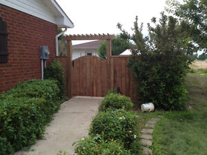 Fence and deck installation Windsor Region Ontario image 10