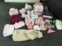 3-6 Months Girls Clothes + smaller bags of 6-9 & 9-12