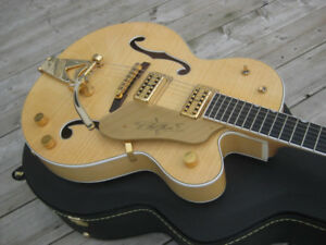Gretsch G6120AM Chet Atkins Hollowbody Amber Flame