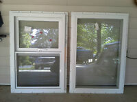2- New construction windows for sale $300