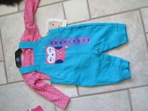 Baby Girl Clothes Size 3M and 6M (New) /3 Outfits