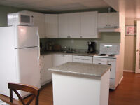 Great Fully Furnished 2 Bedroom Basement Suite in the Hart