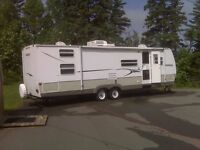 Camper for Rent in a Child Friendly Campground in Cavendish
