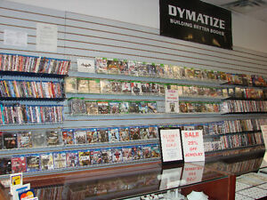 *** SALE ON ALL VIDEO GAMES ***