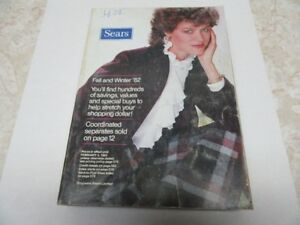 1982 FALL & WINTER SEARS CATALOG 976 PGS. SEE TEXT FOR CONDITION