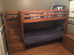 Child's Bunk Bed Set For Sale!!