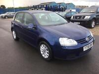 2008 Volkswagen Golf 1.9TDI ( 105PS ) Match - 8 STAMPS - MOT 04/2018