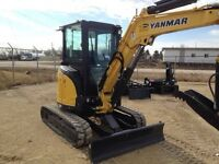 Yanmar VIO-35 Mini Excavator NEW!!!!!