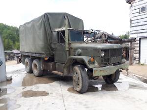camion militaire Jeep 10 roues armée m-185 A3  PRIX REDUIT