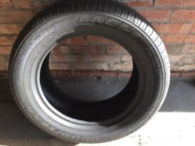 4 x Goodyear Eagle 255 55 R18 Tyres