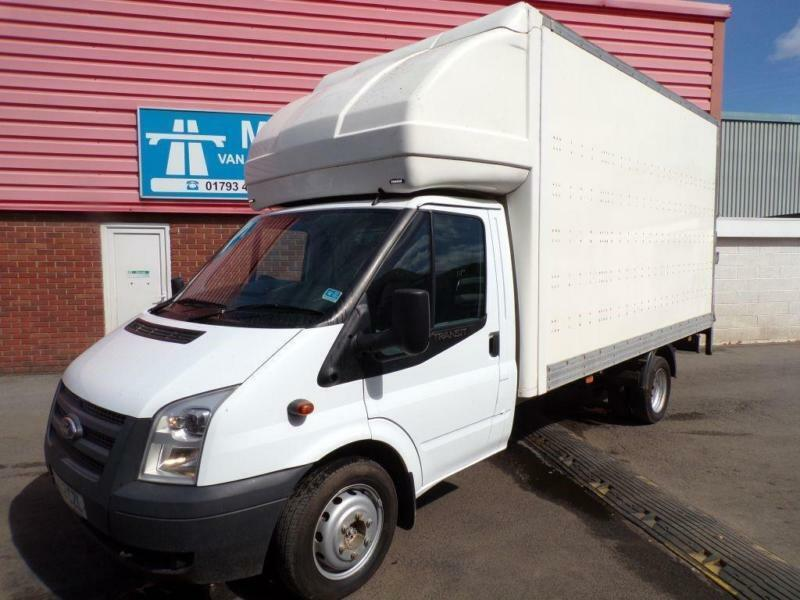 Ford Transit 350 LWB LUTON WITH T/LIFT 135PS