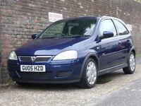 Vauxhall/Opel Corsa 1.2i 16v Design 2005(05) 3 Door Hatchback