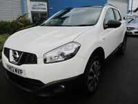 Nissan Qashqai 1.6dCi ( 130ps ) ( s/s ) 360 LOW MILEAGE White