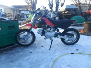 Baja 72cc dirt bike