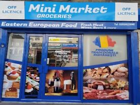 EASTERN EUROPIAN FOOD SHOP IN MAIN ROAD TRADING POSITION (1) , REF : RB207