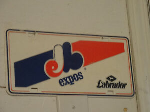 Montreal Expos sign