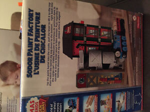 New! Thomas and friends Sodor Paint Factory Kitchener / Waterloo Kitchener Area image 2