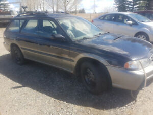 1999 subaru outback legacy not running
