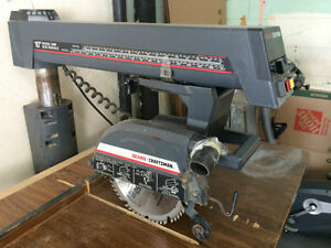 """Sears 10"""" Radial Saw on Stand West Island Greater Montréal image 3"""