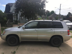 2002 Toyota Highlander - Not currently drivable (specific issue)