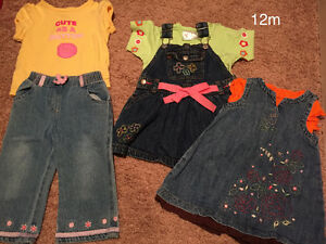 12 Month Summer Clothing